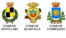comuni Novellara Guastalla Correggio