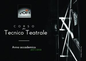 tecnico teatrale A6 Fronte
