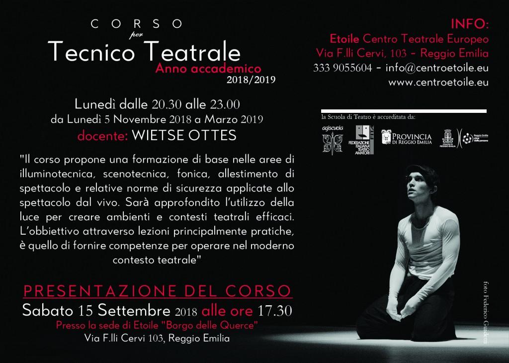 Tecnico Teatrale 18-19 RETRO