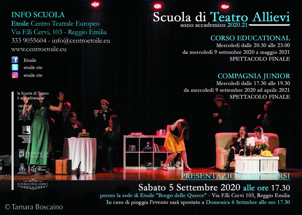 Cartoline Scuola di teatro 20_21