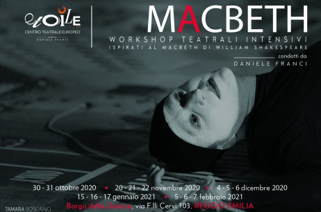 MACBETH – Workshop Teatrali Intensivi 2020-2021
