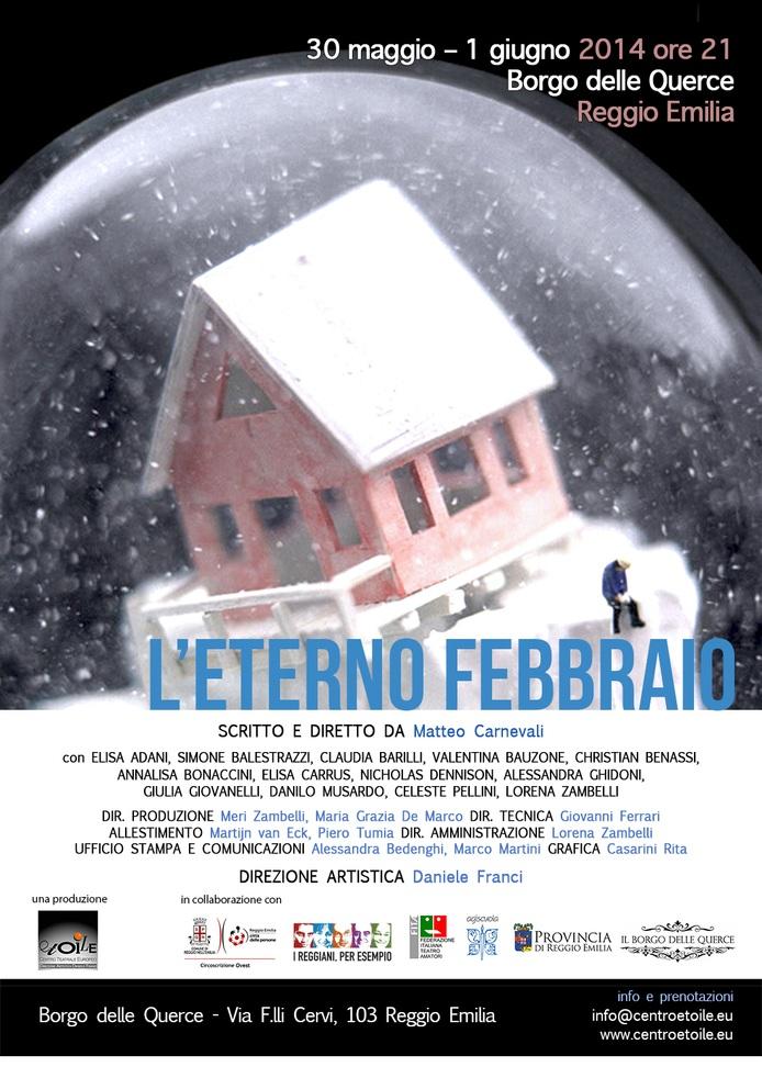 l'eterno febbraio spettacolo finale della scuola di teatro etoile corso teatro contemporaneo